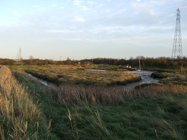 Vange Creek from Wat Tyler Country Park