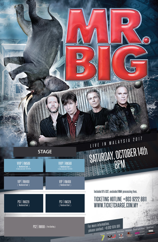Konsert Mr. Big Live In Malaysia 2017