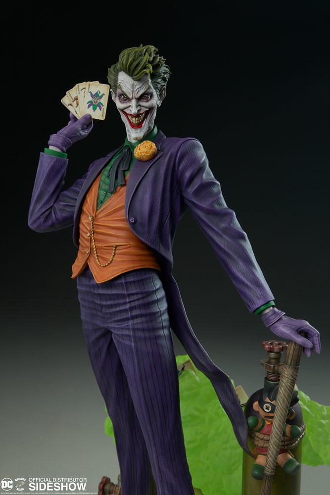 Tweeterhead Super Powers 系列第五彈【犯罪王子:小丑】The Joker Maquette 全身雕像作品