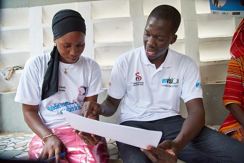 Trachoma Campaign in Touba, Senegal