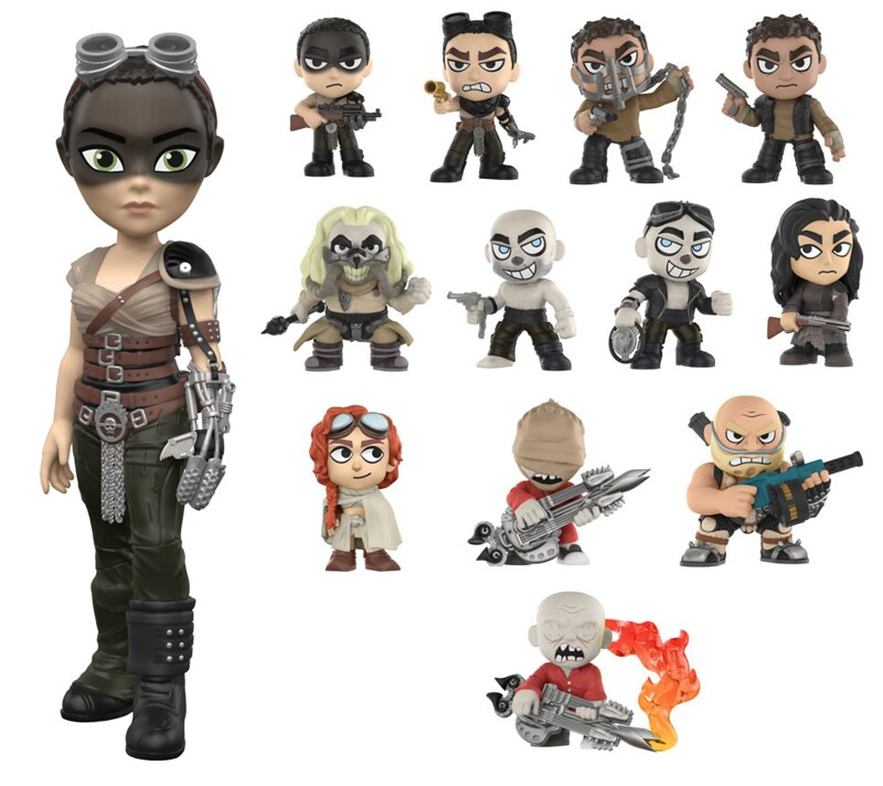FUNKO MAD MAX FURY ROAD Rock Candy Mystery Minis