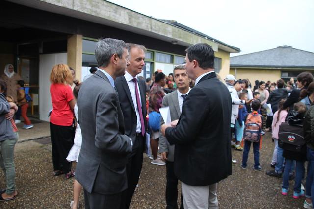 La rentrée à l'école Labarde à Bordeaux