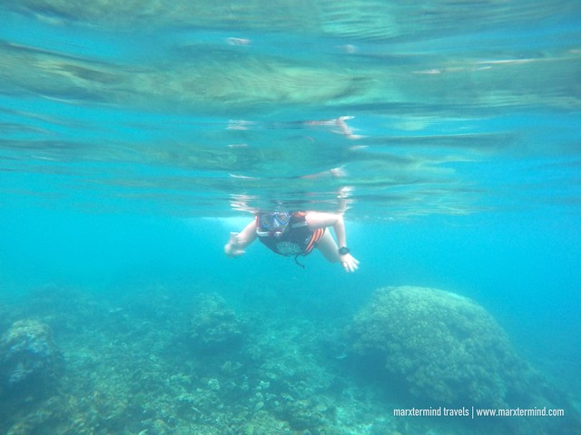 Snorkeling at Paradise Beach El Nido