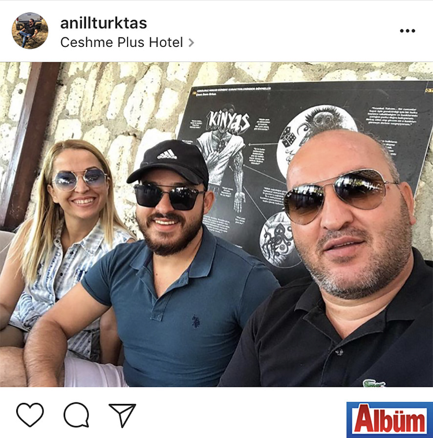 Anıl Türktaş, babası Türktaş Gayrimenkul sahibi Fatih Mehmet Türktaş'ın doğum gününü sosyal medya hesabından paylaştığı aile fotoğrafı ile kutladı.