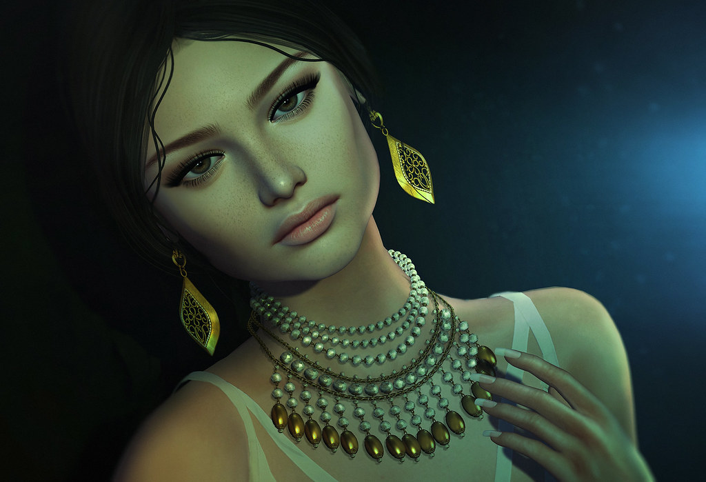 (Kunglers) Mirian necklace & Claire earrings - Ad2 - SecondLifeHub.com