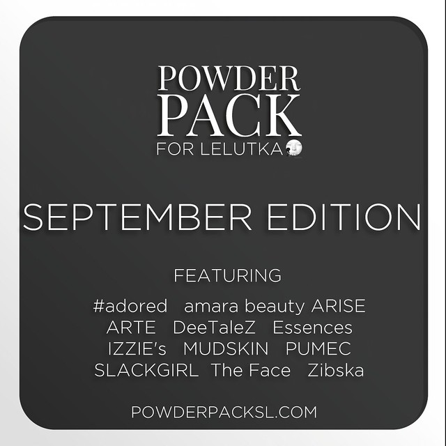 Powder Pack LeLutka September Edition