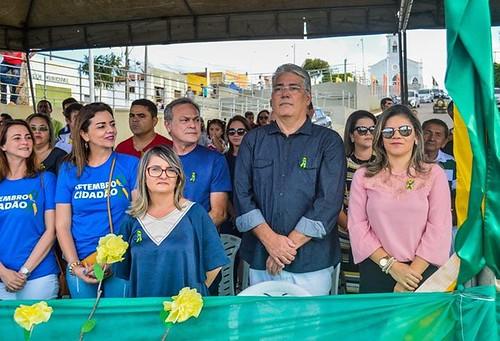 DESFILE CÍVICO DE 7 DE SETEMBRO DE CAMPO REDONDO 2017