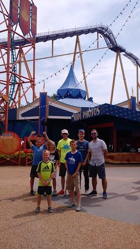 July 27 2017 Clark birthday Busch Gardens