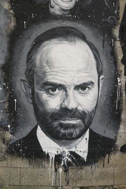 Édouard Philippe, painted portrait _1100357