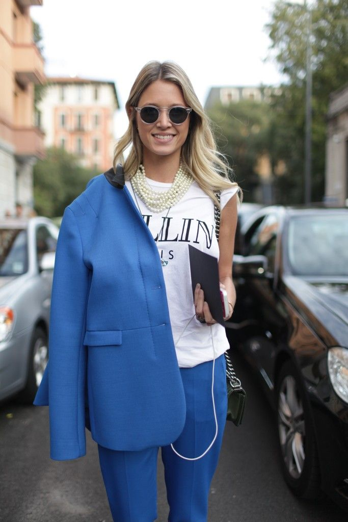Summer Look Inspiration 2017/2018 : They Are Wearing: Milan Fashion Week - Slideshow
