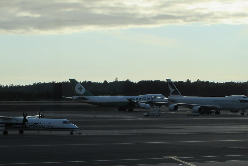 More planes at Anchorage