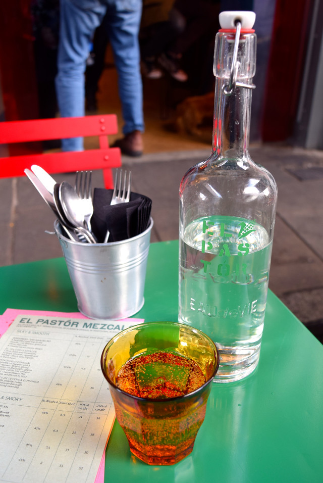 House Sparkling Water at El Pastor, Borough Market | www.rachelphipps.com @rachelphipps