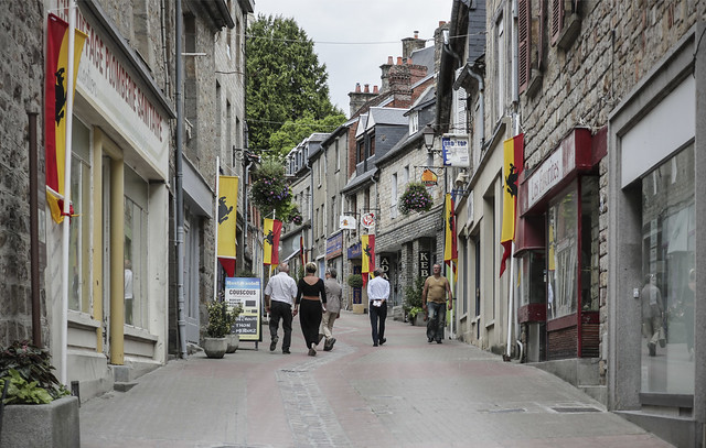 Domfront, Basse-Normandie