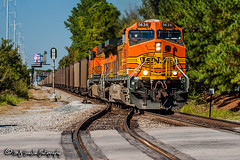 BNSF 5636 | GE AC4400CW | NS Memphis District