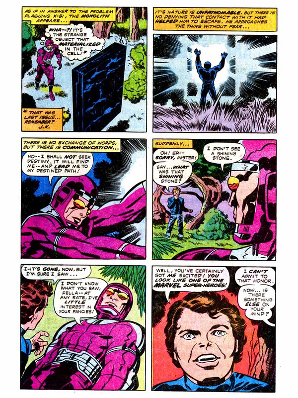 Kirby 2001 - Machine Man meets the Monolith