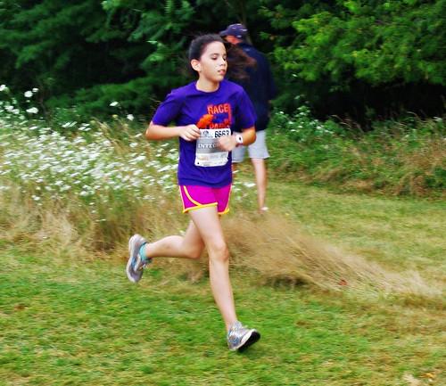 Rosie running the Heideman 2017