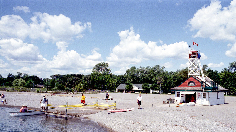 Action at the Lifeguard Station