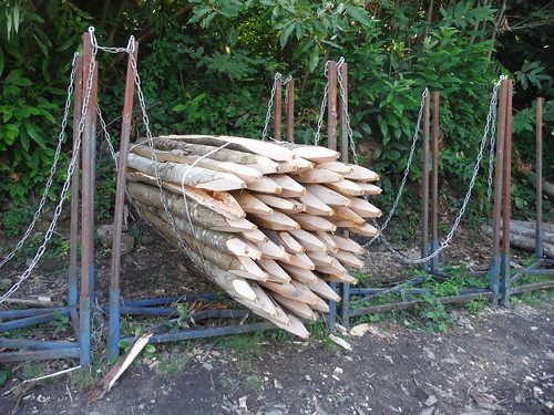 Making Fence Posts (Hoe Hill)