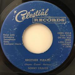 SONNY CRAVER:NIGGER PLEASE!(LABEL SIDE-B)
