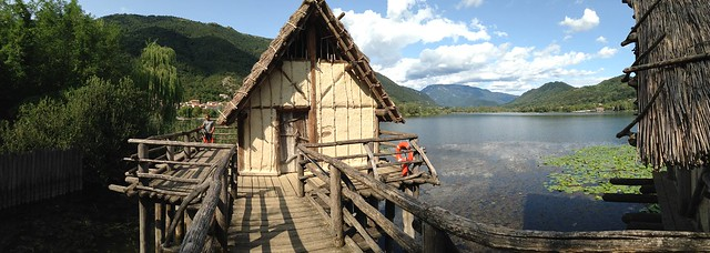 Parco archeologico e didattico del Livelet presso Revine Lago (TV) Italy