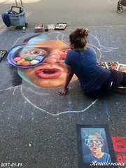 Chalk Art and Funs for Kids