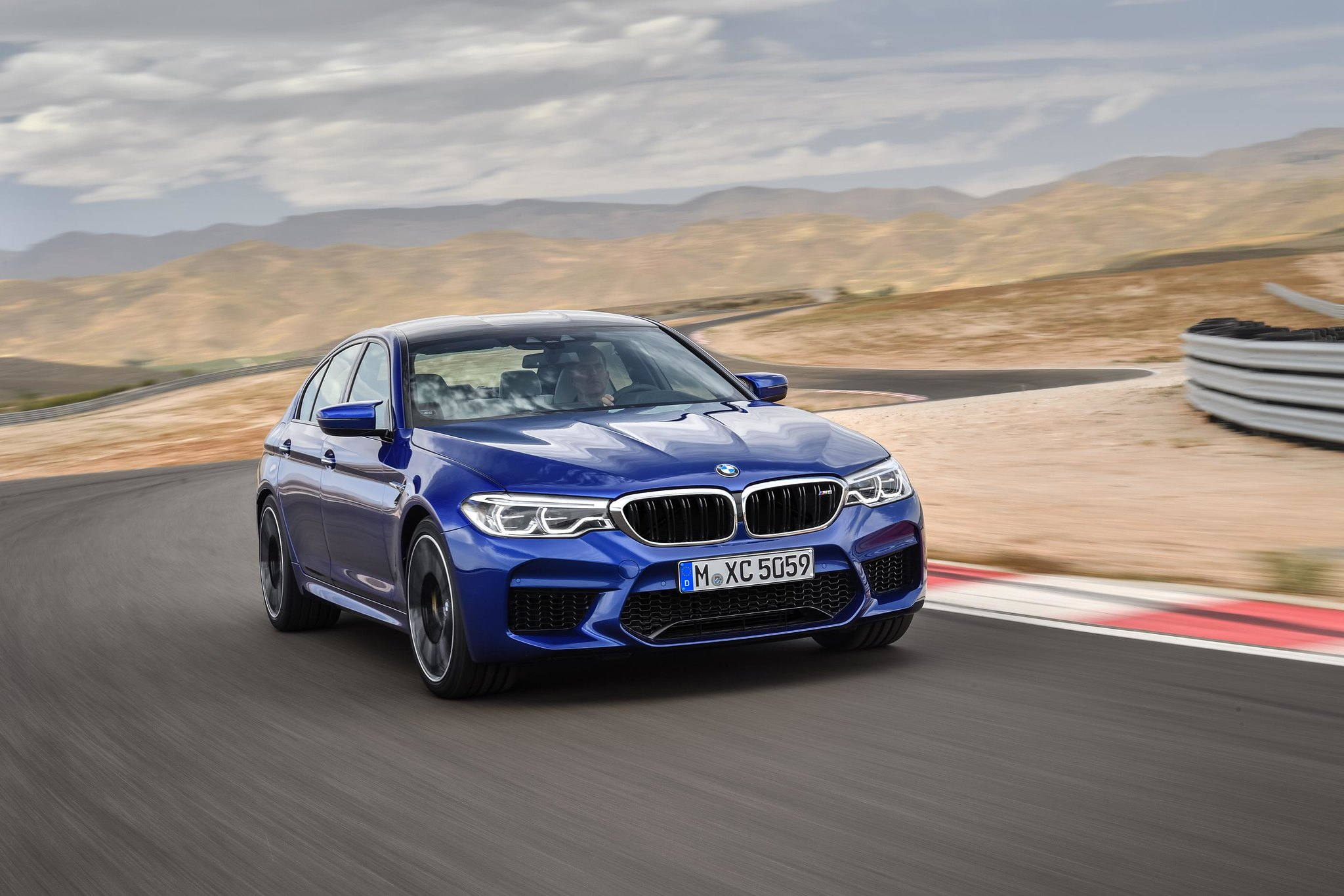 The 2018 BMW M5 is for when you need to do 0-60 in 3.2 seconds