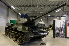 Stridsvagn T34-85 at Arsenalen Strängnäs (S)