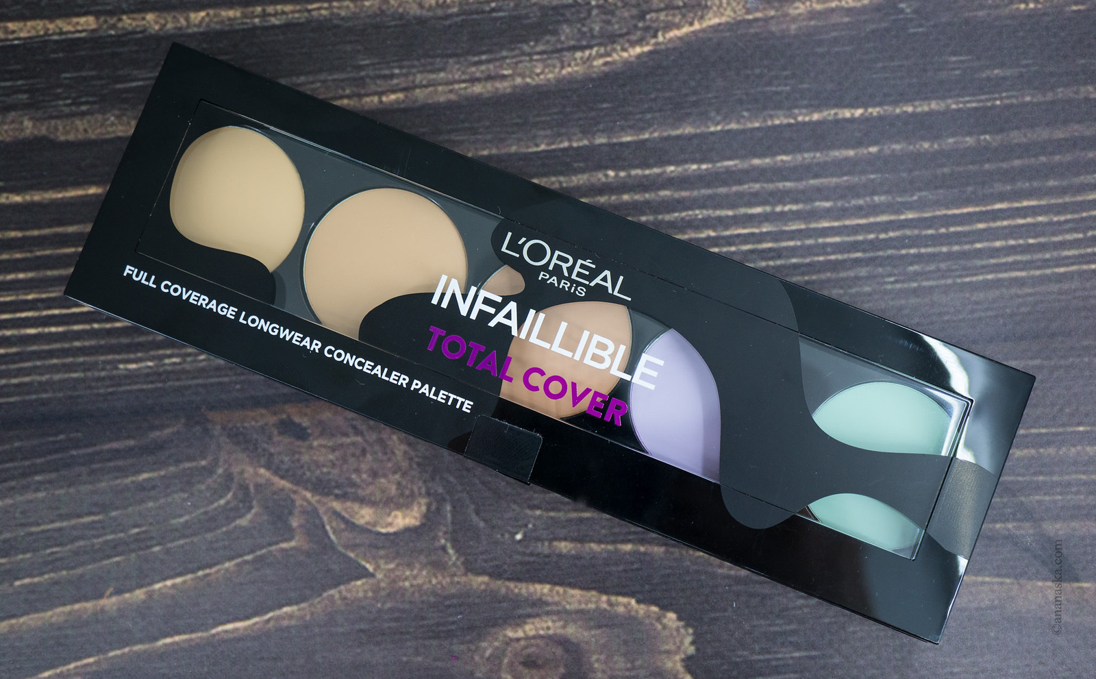 L'Oreal Paris Infaillible Total Cover Concealer Palette