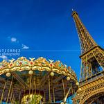 Eiffel Tower and Carousel (II), Paris, France