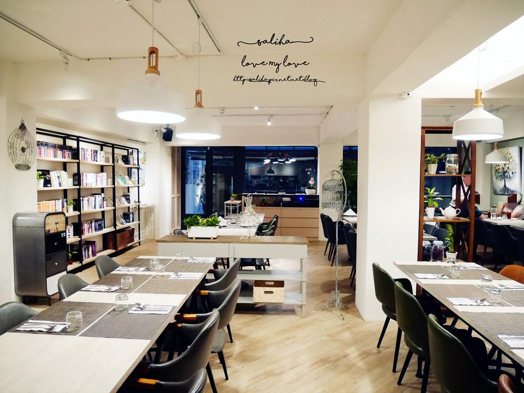 台北松山區可看書適合唸書的藝文餐廳推薦藝集生活 (1)