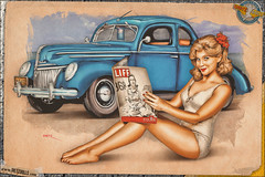Pinups - 1939 Ford De Luxe