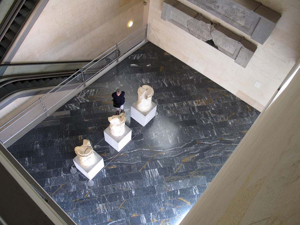 museo teatro cartagena_patrimonio_rafael moneo_sala evolución histórica_arquitectura