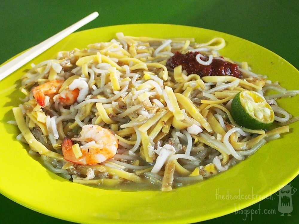 bukit timah market & food centre, food, food review, review, singapore, xie kee hokkien mee,  謝記福建面, 福建面