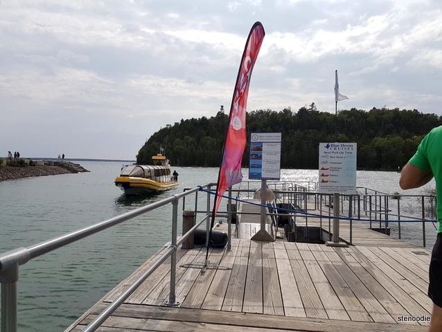 Flowerpot Island dock
