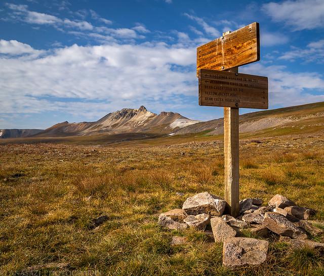 Horsethief Trail Junction