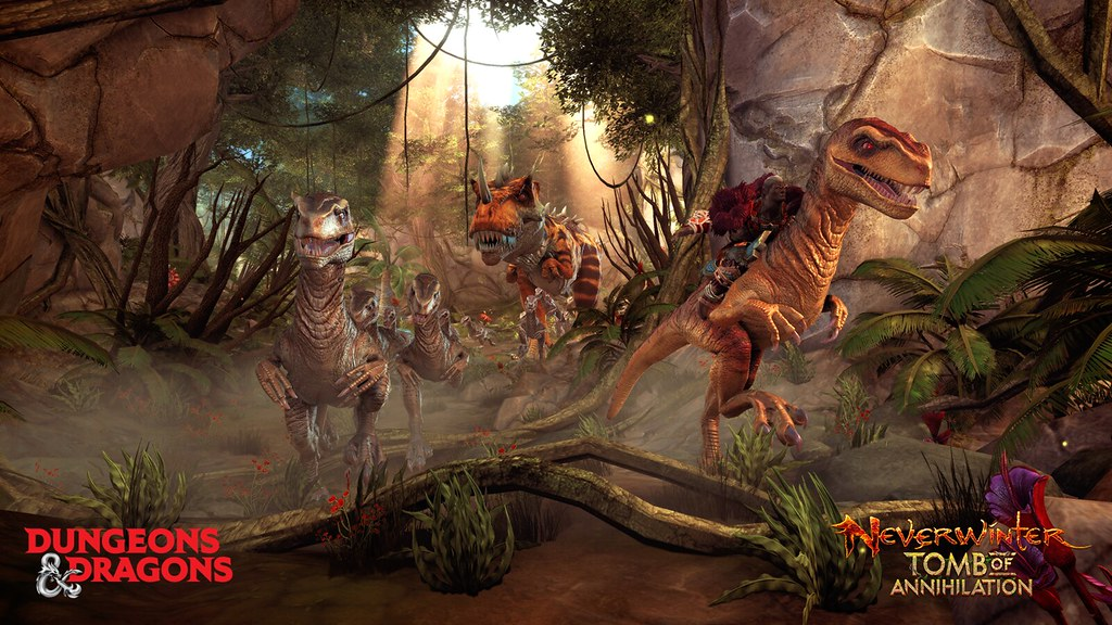 PS4 MMO Neverwinter's new expansion Tomb of Annihilation
