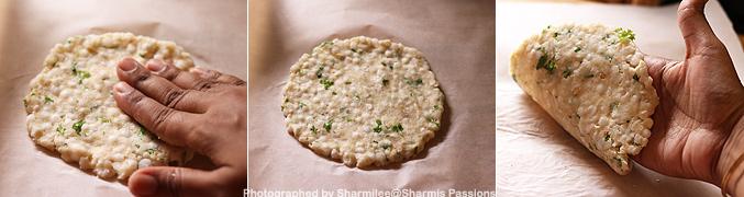 How to make Sabudana thalipeeth recipe - Step4