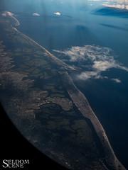 Looking down on Long Beach