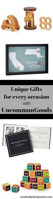 Unique Gifts for every occasion from UncommonGoods #Wedding #Anniversary #Baby #GiftIdeas {sponsored}