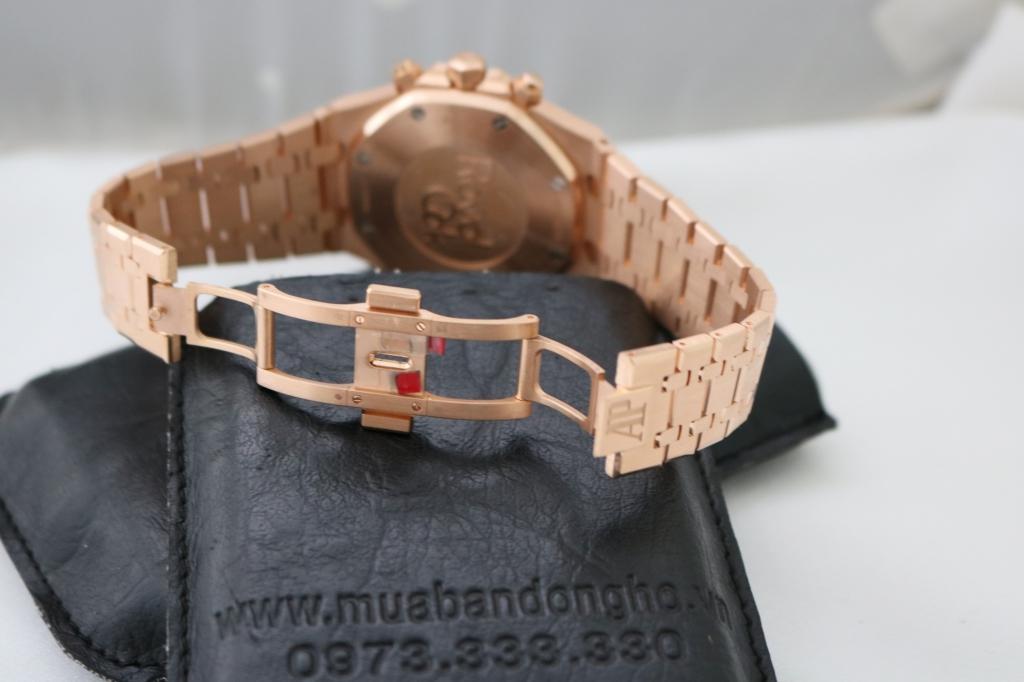 Đồng hồ Audemard Piguet Royal Oak – vàng hồng 18k – size 41mm