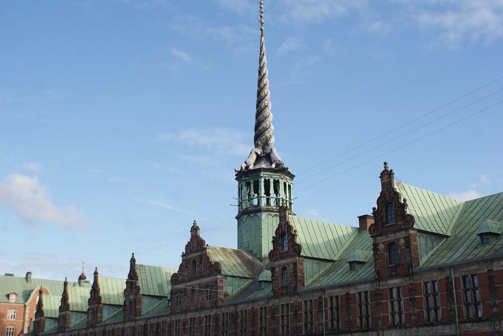 Borsen, le batiment de la bourse de Copenhague.