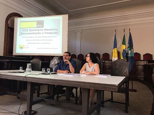 Seminário Memória, Documentação e Pesquisa da Memória Institucional UFRJ