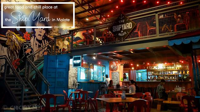 Malate Diaries: Affordable Yummy Mini Food Park in Manila |  The Shipyard in Malate
