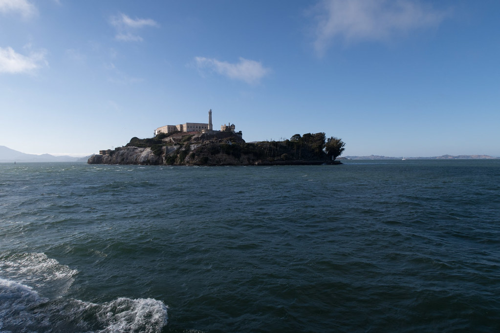 View of Alcatraz from the ferry