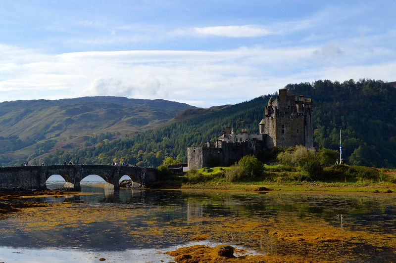 This is a picture of Eilean Donan Castle