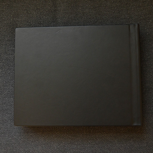 Picaboo Madison Hardcover Photo Book with glove leather back cover