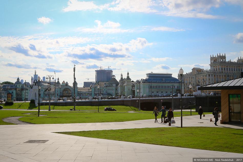 Площадь у Белорусского вокзала просто не узнать! IMG_4286