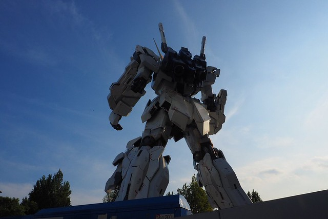 Real Gundam Unicorn Life Size - twilight