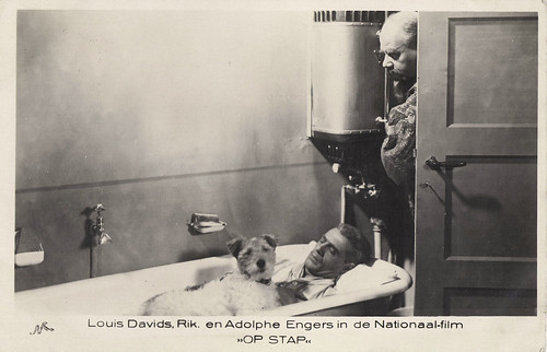 Louis Davids, Rik and Adolphe Engers in Op stap (1935)
