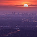 Sunset Over Melbourne by KimTalento